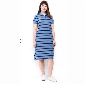 Land's End Plus Size ShortSleeve Polo Dress